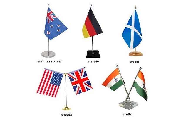 small desk flags