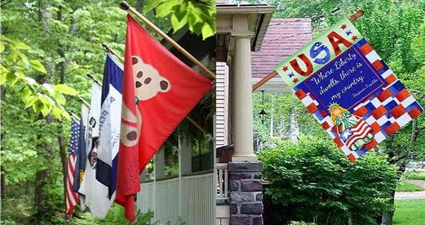 decorative house flags