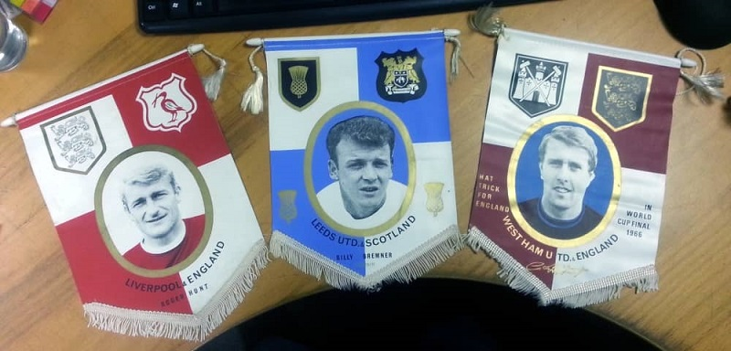 Soccer pennants/Heat Transfer Printing in Full Color- any complex colors