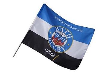 Custom small stick flag  mini hand held waving flag banner